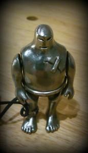 チェコのおみやげに頂いたゴーレム人形