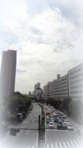 飯田橋から四谷方面を見る