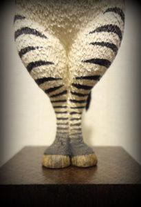 シマウマの足